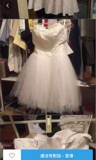 🚚 過年出清 澎裙短禮服 僅穿著拍照原價2500