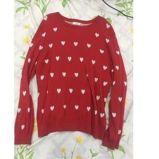 Heart Jumper (perfect for valentine)