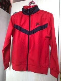 Nike Jacket 女裝 紅色外套 (只拆牌 未著過)