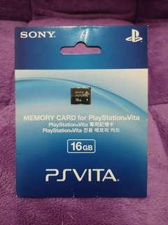 PS Vita Memory Card 16GB (Almost as New) #MakeSpaceForLove