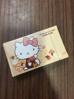 絕版! 長榮Hello Kitty 啤牌 Eva air