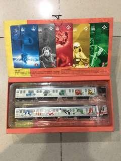 2000 Olympic Games MTR tickets 奧運紀念地鐵車票
