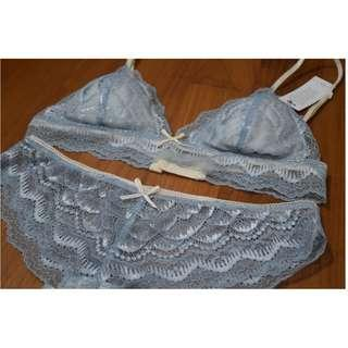 🚚 *Brand New* Susy and Bae Lingerie Set - Dream Serene Blue