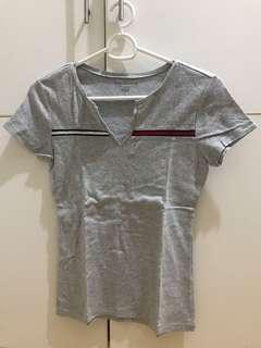 TOMMY HILFIGER Gray Shirt
