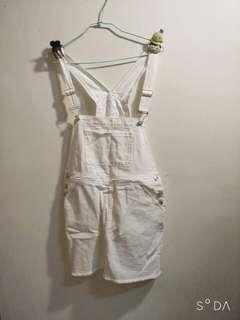 🚚 白色短牛仔裙