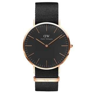LN DW Daniel Wellington Black Series Watch