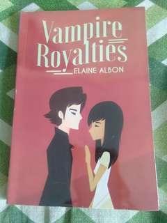 Wattpad Book- Vampire Royalties