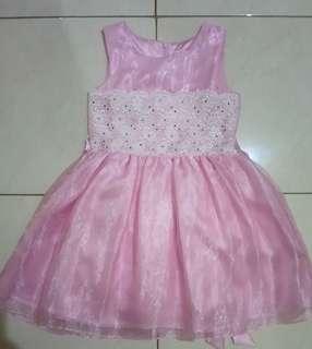 Gaun Anak Perempuan Size 8
