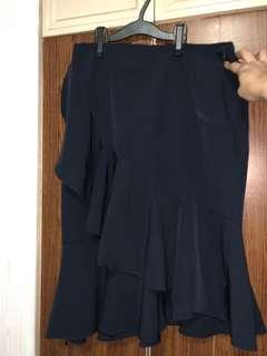 For Me navy blue skirt