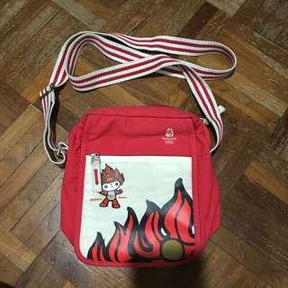 🚚 Beijing Olympics Huan Huan sling bag