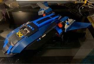 Lego 76022- X-Men 飛機 (已砌)
