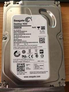 Seagate Hard Disk 2TB ST2000DM001