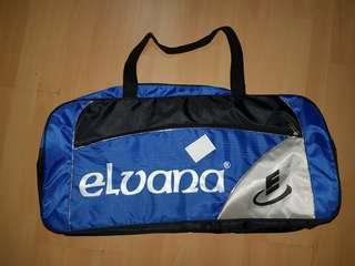 ELVANA TAS BADMINTON / BADMINTON BAG BLUE SILVER