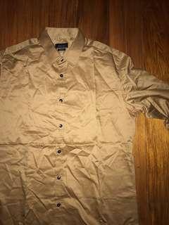 Zara Man long sleeved button down