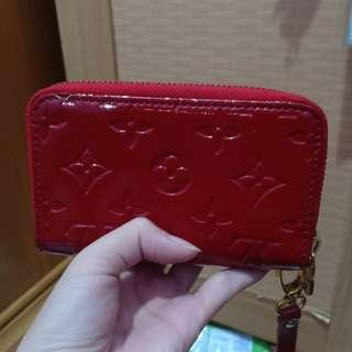 RED LV look a like purse