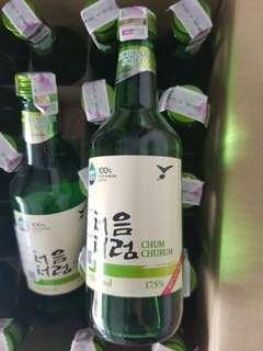 Soju Korea Import Chum Churum ~ BOX Original & Peach Termurah