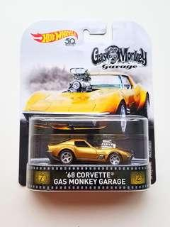 Hot Wheels '68 Corvette Gas Monkey Garage