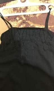 Long Dress manik2 Hitam #paydaymaret