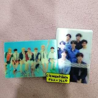 BTS LENTICULAR CARD