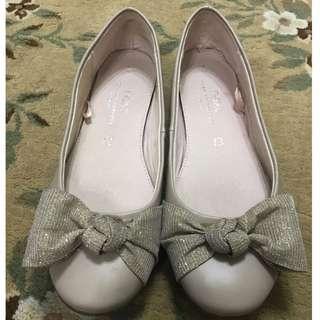 NEXT bow ballerina shoes