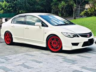 HONDA CIVIC FD 2.0 TYPE R MANUAL YEAR 2010/2015