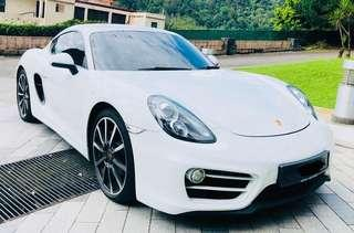 PORSCHE CAYMAN 2.7 YEAR 2014/2018