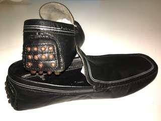 Pedro Leather Moccasins / Slip On