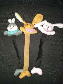 🚚 兔子玩偶書籤