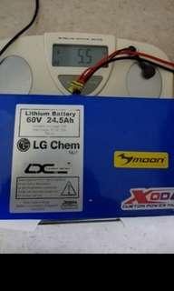 🚚 60v 24ah trade to dt ultra battery