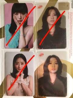 Apink 응응 photocards