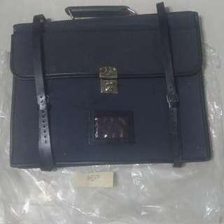 英國皇家空軍領航員帆布公文包(未開封) RAF Navigator Canvas Briefcase