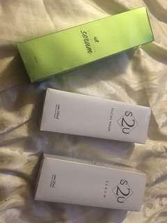 BIO SC SERUM, SU2 Serum and facial wash