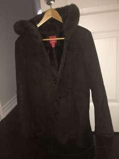 Esprit Medium Brown heavy Winter jacket!