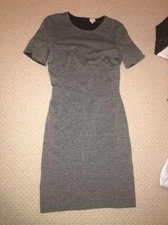 Wilfred Medium Grey Dress