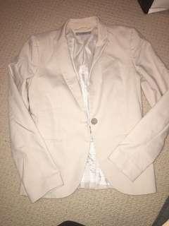 Beige H&M  Size 6 Blazer $15