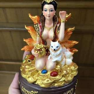 龍婆彌樂密  富貴招財九尾狐仙