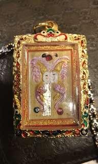 Kruba Krissana Butterfly Amulet Salika