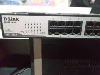 Switch Hub dlink 24 port