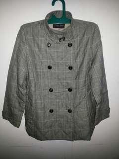 #CNY2019 Blazer Strips Grey Jacket Penny Jule