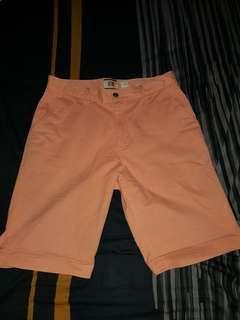 Boss Orange short celana pendek jingga