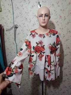Baju bunga bangkok
