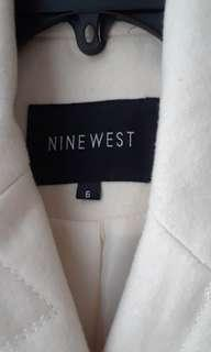 Nine West Winter White Coat