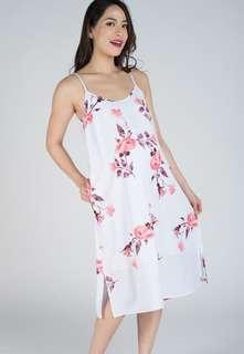 JEC Scarlett Floral Midi Nursing Dress