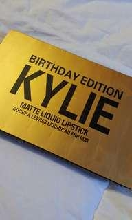 Kylie Matte Liquid Lipstick Birthday Edition