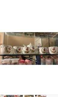 米妮英式茶杯連茶壺