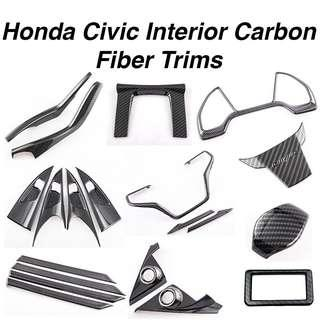 Honda Civic FC Interior Carbon Fiber Trims