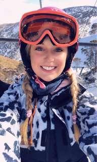 Rojo snow goggles