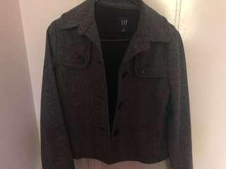 Gap crop blazer