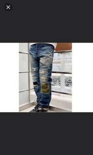 Bape 1999 Type -02 damaged jean WTT M