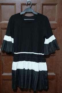 Korean pleated dress